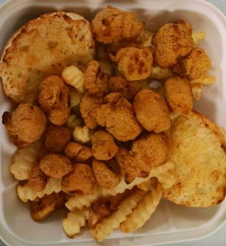 Popcorn Chicken Basket