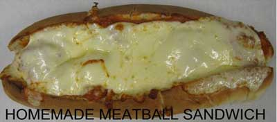 Meatball and Cheese